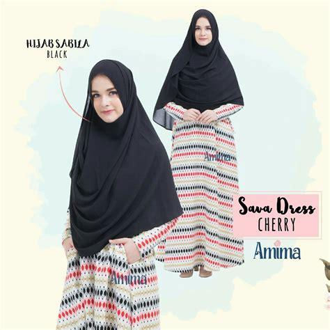 Amima Dress Gamis Amima Sava Airy 1 safa dress by amima estrellashop id