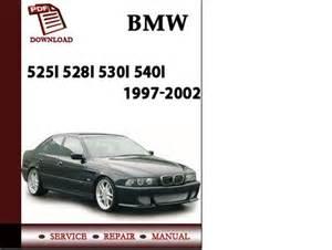 bmw e39 5 series 525i 528i 530i 540i sedan sport wagon