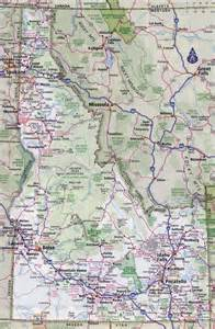 State Of Idaho Map by Large Detailed Roads And Highways Map Of Idaho State With