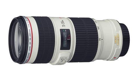 Lensa Canon 70 200 Usm harga dan spesifikasi lensa canon ef 70 200mm f 4l is usm
