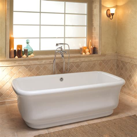 in a bathtub super soakers soaking tubs take your bath in style