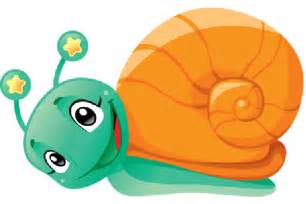 Bugs and insects funny cartoon snails