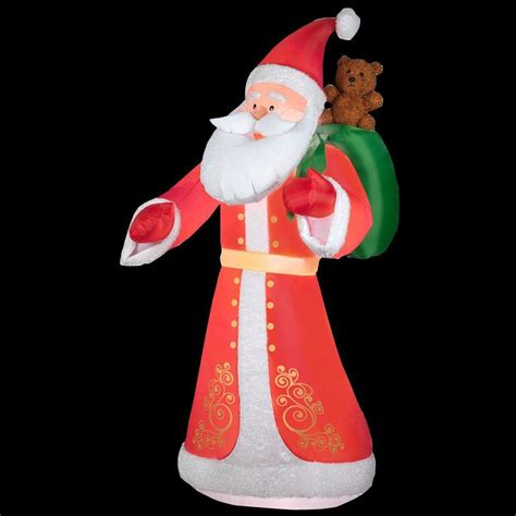 home depot inflatable christmas decorations inflatable santa claus buy inflatable santa claus online
