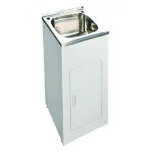 35l laundry tub with cabinet 455mm width e renovation