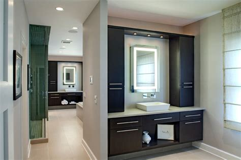 his and hers bathroom contemporary his and hers master bath contemporary