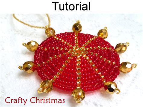 pattern christmas ornament beading tutorial pattern christmas ornament holiday