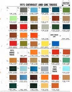 1964 chevy paint color chart 2015 best auto reviews