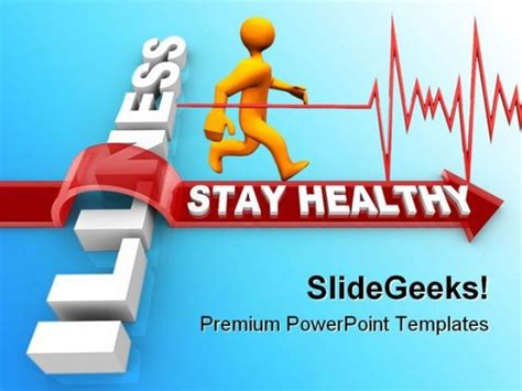 powerpoint templates free download healthy lifestyle stay healthy medical powerpoint backgrounds and templates