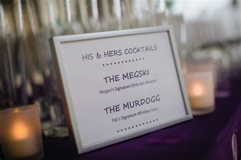 17 best images about signature wedding drinks on pinterest