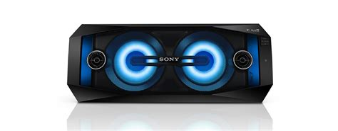 sony light up speaker sony audio hi fi system with wireless