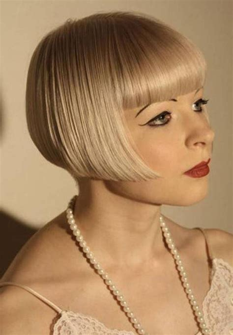 Flapper Hairstyle by Flapper Hairstyles For Hair Related Tags For