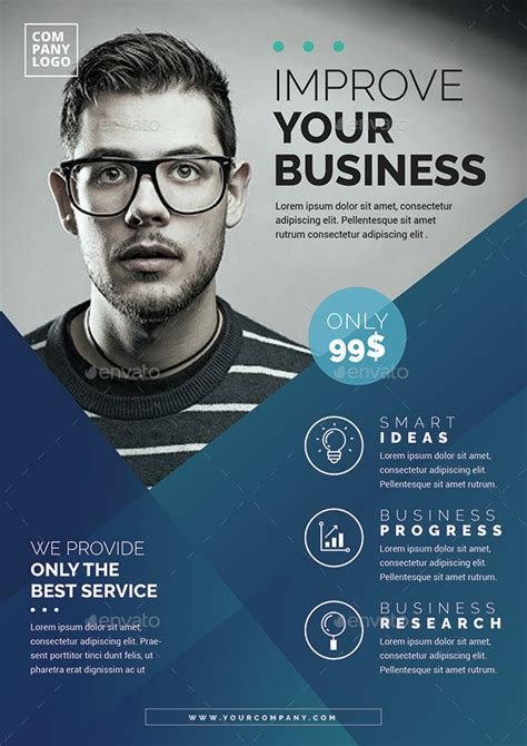 best flyer design graphicriver corporate flyer template by vynetta graphicriver