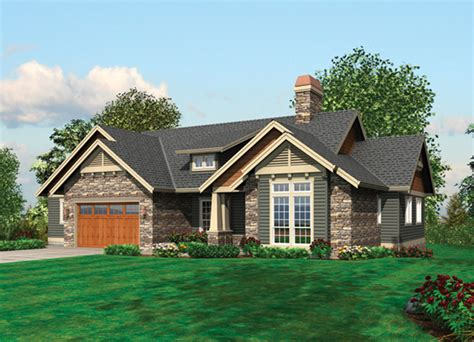 Houseplans And More by Prichard Luxury Craftsman Home Plan 011s 0100 House