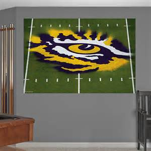 Lsu Home Decor by Lsu Eye Of The Tiger Mural Wall Decal Shop Fathead