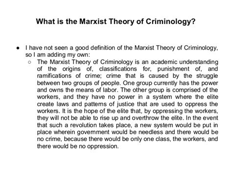 Criminology Theories Essay by 3 Ways Not To Start A Criminology Essay