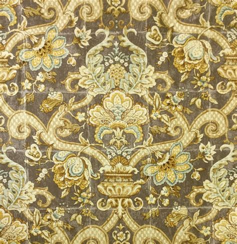 Blue Damask Upholstery Fabric by Blue Gold Damask Upholstery Fabric By The Yard