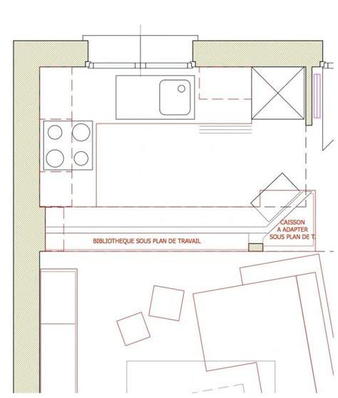 plans cuisine ouverte comment optimiser l am 233 nagement d une cuisine ouverte