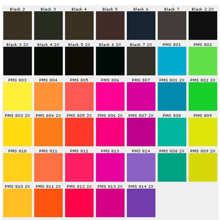 color pin custom pins color chart pantone matching system