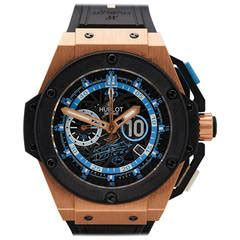 Hublot Big Blue Rosegold Rubber 1 antique vintage and luxury watches 2 793 for sale at