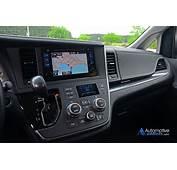 2015 Toyota Sienna Se Half Dashboard