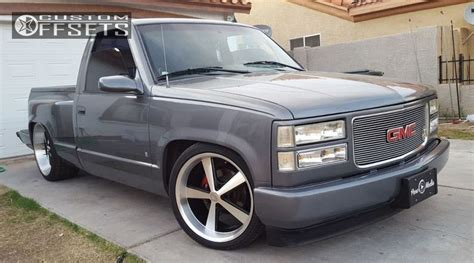 1989 gmc 1500 aftermarket parts wheel offset 1996 gmc c1500 nearly flush lowered 4f 6r