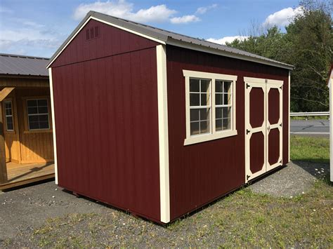 utility shed  windows  work bench call