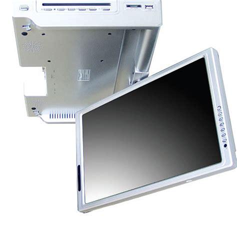 under cabinet flip down kitchen tv trekkerboy urtra slim 15 4 inches flip down kitchen tv with dvd