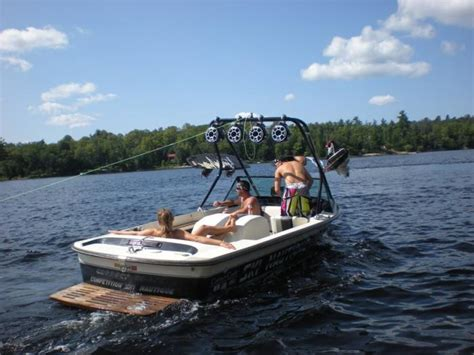 25336 Small Stripe ski nautique 2001 way to spend an afternoon