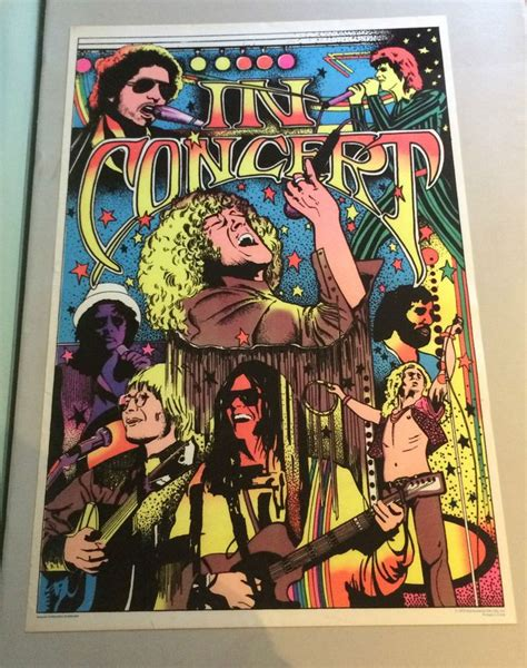 light up posters for concerts 1174 best blacklight images on posters