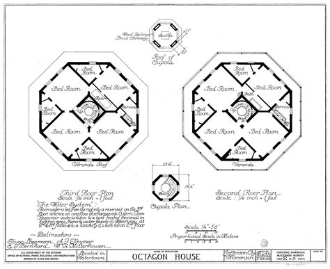 octagonal house plans octagon house