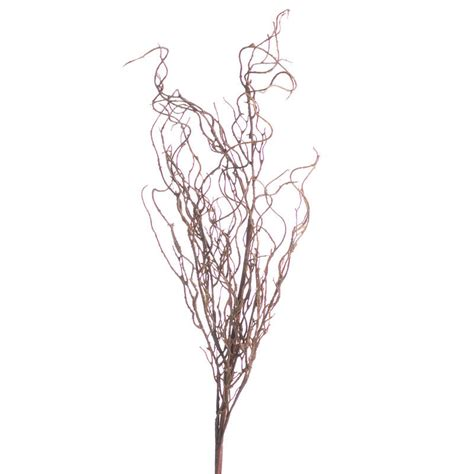 brown large artificial twig spray