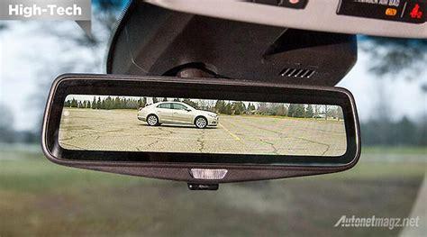 Spion Mobil Dalam rear parking pada kaca spion mundur dalam mobil cadillac