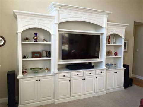 entertainment center bookcase built in home theater media