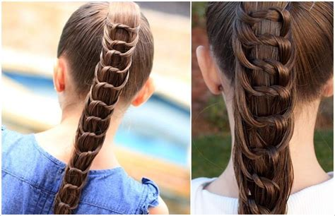cute hairstyles with rubber bands try this amazing knotted ponytail hairstyle