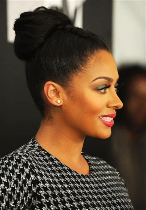 bun updos for black women 5 interesting wedding hairstyles with puff black women