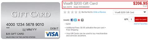 Cash Back Visa Gift Card - 200 visa gift cards on staples com and 20 staples easy rebate for a 300 mastercard