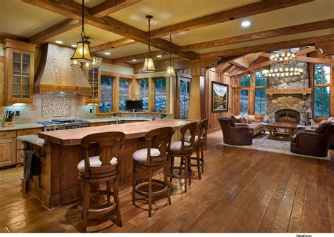 mountain homes interiors lake home interiors