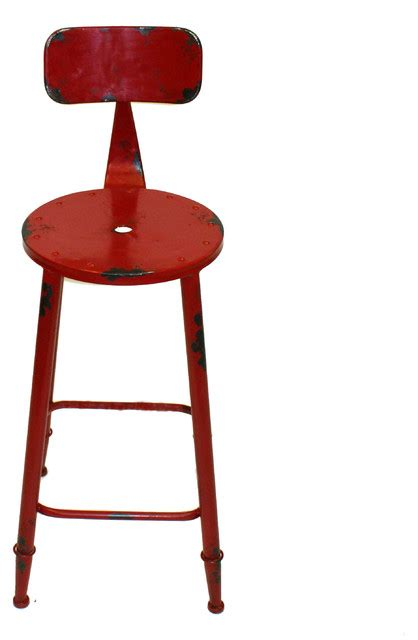 red kitchen bar stools armand counter stool red industrial bar stools and