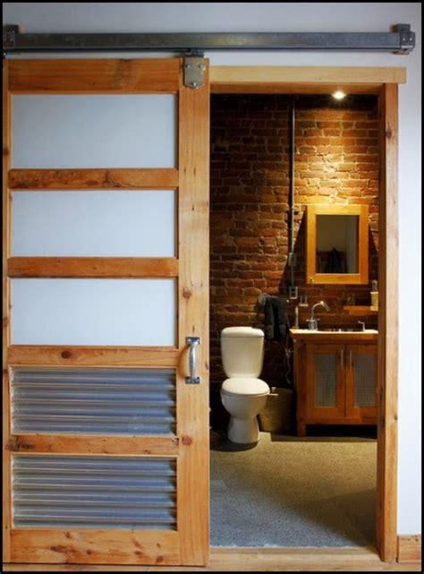 Modern Bathroom Barn Door Glass Barn Doors For Closet A Newest Style Of Bathroom