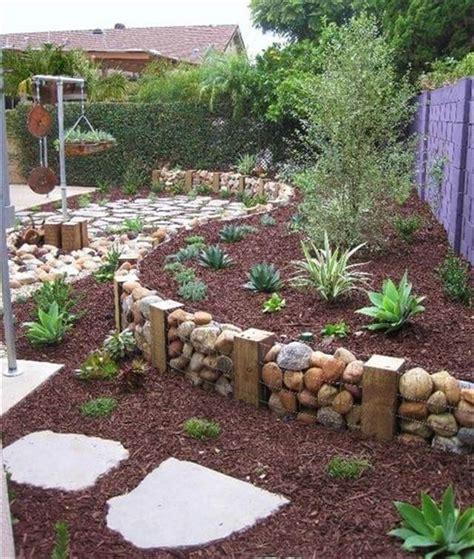diy  wire mesh  stones idea