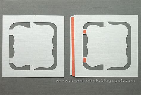 accordion flip card template layers of ink tutorial four seasons accordion booklet