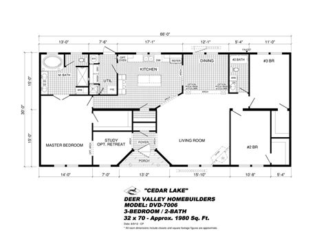 new mobile home floor plans elegant deer valley mobile home floor plans new home