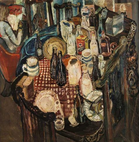 Great Works Table Top 1955 By John Bratby The Independent Bratby Kitchen Sink