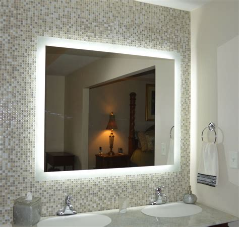 lighted vanity mirrors wall mounted mam  wide   tall side lighted ebay