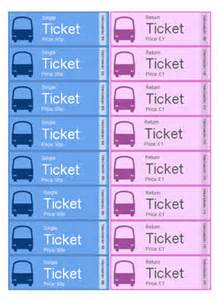 play ticket template play tickets eyfs ks1 free early years