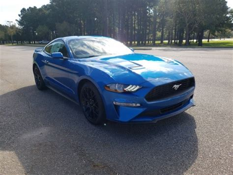 ford mustang ecoboost premium  coupe  myrtle beach  beach ford