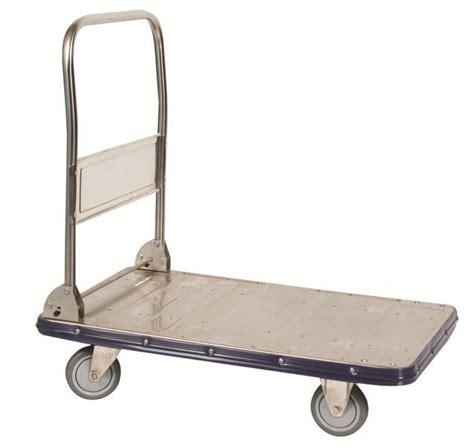 stainless steel platform cart heavy duty flat cart