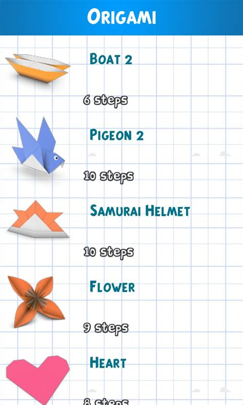 Origami Paper Review - origami paper 3d soft for windows phone free