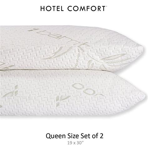 hotel comfort bamboo pillow reviews hotel comfort memory foam pillow bamboo comfort com