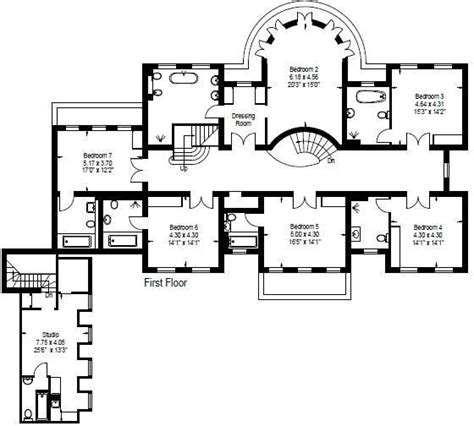 burghley house floor plan 7 bedroom detached house for sale in c end road st